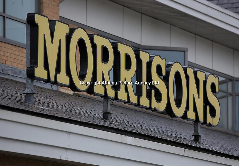 Morrisons super market sign