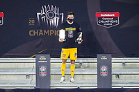 22nd December 2020, Orlando, Florida, USA;  Tigres Andre-Pierre Gignac is awarded the best player award after the Concacaf Championship between LAFC and Tigres UANL on December 22, 2020, at Exploria Stadium in Orlando, FL.
