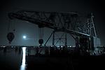 Moonrise Over Crane
