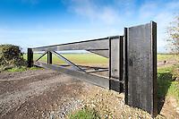Heavy duty farm gate - Lincolnshire, November