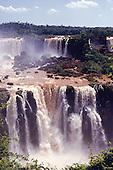 Iguassu, Brazil. The Iguassu falls.