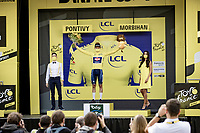 yellow jersey / GC leader is still Mathieu Van der Poel (NED/Alpecin-Fenix)<br /> <br /> Stage 3 from Lorient to Pontivy (183km)<br /> 108th Tour de France 2021 (2.UWT)<br /> <br /> ©kramon