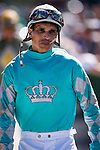 OLDSMAR, FLORIDA - FEBRUARY 11: Willie Martinez. after a race, at Tampa Bay Downs on February 11, 2017 in Oldsmar, Florida (photo by Douglas DeFelice/Eclipse Sportswire/Getty Images)