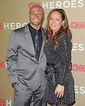 J.R. Martinez and girlfriend attends CNN Heroes - An Allstar Tribute held at The Shrine Auditorium in Los Angeles, California on December 11,2011                                                                               © 2011 DVS / Hollywood Press Agency