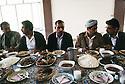 Iraq 1991<br /> Shaklawa: Lunch with personalities of the Kurdish front    Irak  1991 A Shaklawa, dejeuner avec des personnalités politiques du Front du Kurdistan