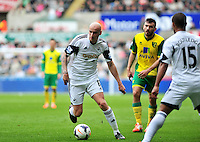 Swansea v Norwich, Liberty stadium Swansea, Saturday 29th March 2014<br /> <br /> Photographs by Amy Husband