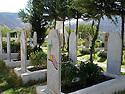 Iraq 2009.The cemetery of Candil with gravestones of PKK'sfighters   Irak 2009. Le cimetiere de Candil et les tombes de combattants du PKK tombes au combat.