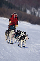 Keith Aili on Yukon River on Way to Nulato