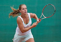 August 12, 2014, Netherlands, Raalte, TV Ramele, Tennis, National Championships, NRTK,  Inger van Dijkman (NED)<br /> Photo: Tennisimages/Henk Koster