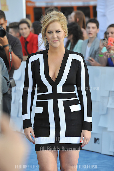 Amy Schumer at the 2015 MTV Movie Awards at the Nokia Theatre LA Live.<br /> April 12, 2015  Los Angeles, CA<br /> Picture: Paul Smith / Featureflash
