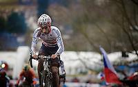 Ian Field (GBR)<br /> <br /> Elite Men's race<br /> <br /> 2015 UCI World Championships Cyclocross <br /> Tabor, Czech Republic