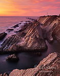 Sunset, Point Arena Lighthouse, Mendocino County, California