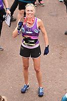 London Marathon finish 2019