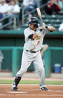 Freddy Sandoval / Salt Lake Bees in a game against the Tucson Sidewinders in Tucson, AZ - 09/01/2008 ..Photo by:  Bill Mitchell/Four Seam Images