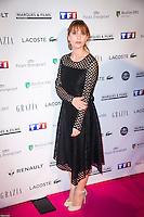 Lolita Chammah ‡ la soirÈe des TrophÈes du Film FranÁais 2017 au Palais Brongniart ‡ Paris le 2 fÈvrier 2017. # TROPHEES DU FILM FRANCAIS 2017