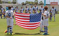 Bahaman, Puerto Rico - May 22, 2016: The USMNT take on Puerto Rico in a warm up friendly match prior to the start of the 2016 Copa America Centenario at Juan Ramón Loubriel Stadium.