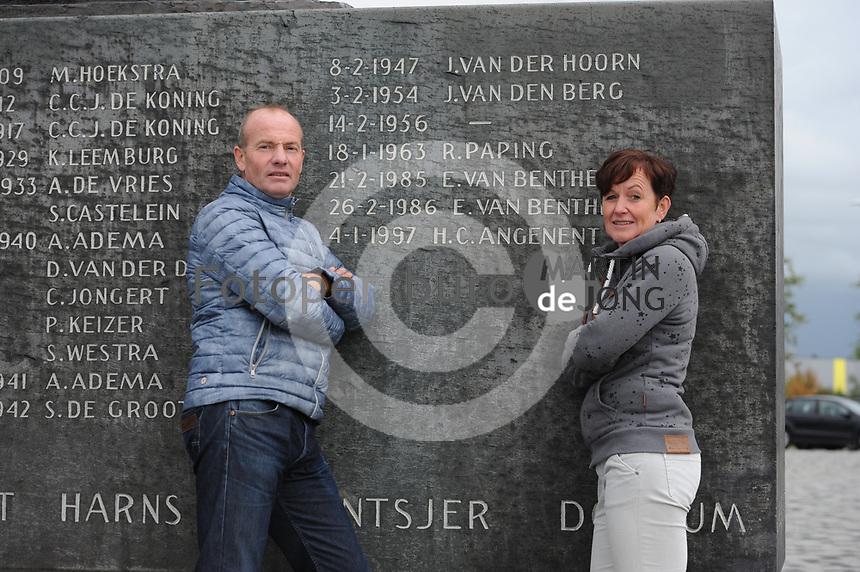 SCHAATSEN: LEEUWARDEN: 16-09-2017, Henk Angenent, Klasina Seinstra, ©foto Martin de Jong