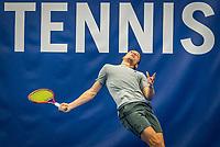 Amstelveen, Netherlands, 17  December, 2020, National Tennis Center, NTC, NK Indoor, National  Indoor Tennis Championships,   :  Tim van Rijthoven (NED) <br /> Photo: Henk Koster/tennisimages.com