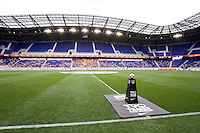 Nike Ball, Red Bull Arena. The USWNT defeated Mexico, 1-0, during the game at Red Bull Arena in Harrison, NJ.