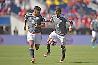 Action photo during the match Costa Rica vs Paraguay, Corresponding Group -A- America Cup Centenary 2016, at Citrus Bowl Stadium<br /> <br /> Foto de accion durante el partido Estados Unidos vs Colombia, Correspondiante al Grupo -A-  de la Copa America Centenario USA 2016 en el Estadio Citrus Bowl, en la foto: (i-d) Bruno Valdez y Derlis Gonzalez de Paraguay <br /> <br /> <br /> <br /> 04/06/2016/MEXSPORT/Isaac Ortiz.