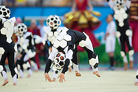The FIFA World Cup 2014 Opening Ceremony dancers