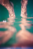 Abstract photo of legs<br />