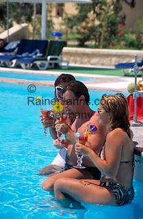 EGY, Aegypten, Hurghada: Coral Beach Hotel, Pool   EGY, Egypt, Hurghada: Coral Beach Hotel, Pool