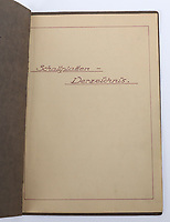 BNPS.co.uk (01202) 558833. <br /> Pic: C&TAuctions/BNPS<br /> <br /> Pictured: Along with the cream jug Corporal Whitney also managed to grab this binder listing the Fuhrer's musical choices. <br /> <br /> A selection of rare items salvaged from Adolf Hitler's personal train by a British officer have emerged for sale 76 years on.<br /> <br /> A member of Field Marshal Bernard Montgomery's security staff brought home a range of souvenirs including his cream jug at the end of World War Two.<br /> <br /> Corporal Whitney also got his hands on a small binder which listed the Fuhrer's musical choices to be played on a gramophone, and a Nazi penant.