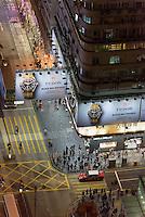 Nathan Road in Kowloon, Hongkong, China