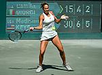 April 5,2018:  Madison Keys (USA) defeated Camila Giorgi (ITA) 6-4, 6-3, at the Volvo Car Open being played at Family Circle Tennis Center in Charleston, South Carolina.  ©Leslie Billman/Tennisclix/CSM