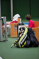 20131201,Netherlands, Almere,  National Tennis Center, Tennis, Winter Youth Circuit, changeover<br /> Photo: Henk Koster