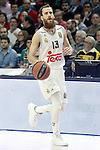 Real Madrid's Sergio Rodriguez during Euroleague match. January 28,2016. (ALTERPHOTOS/Acero)