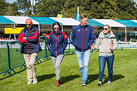 Team USA during the first day of Dressage. 2019 GBR-Land Rover Burghley Horse Trials. Wednesday 4 September. Copyright Photo: Libby Law Photography