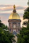 June 8, 2017; Main Building summer 2017 (Photo by Matt Cashore/University of Notre Dame)