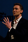 22.09.2012.The New York Times in collaboration with the Department of Arts of the City of Madrid presented, for the first time in Madrid, a series of TimesTalks at the Teatro Fernan Gomez, with prominent international personalities from film, theater and music in conversation with journalists from the New York Times. In the image Tom Hiddleston  (Alterphotos/Marta Gonzalez)