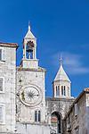 Croatia, Split, Clock Tower at People's Square