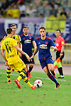Manchester United winger Adnan Januzaj (r) during the International Champions Cup China 2016, match between Manchester United vs Borussia  Dortmund on 22 July 2016 held at the Shanghai Stadium in Shanghai, China. Photo by Marcio Machado / Power Sport Images
