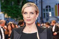 Melita Toscan Du Plantier arrive sur le tapis rouge pour la projection du film 'Juste la fin du monde' lors du 69ème Festival du Film à Cannes le jeudi 19 mai 2016.