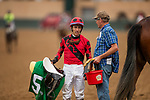 JULY 24, 2021: Juan Hernandez at the Del Mar Fairgrounds in Del Mar, California on July 24, 2021. Evers/Eclipse Sportswire/CSM