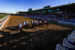 November 1, 2019: Storm the Court, ridden by Flavien Prat, wins the TVG Breeders' Cup Juvenile on Breeders' Cup World Championship Friday at Santa Anita Park on November 1, 2019: in Arcadia, California. Carlos Calo/Eclipse Sportswire/CSM