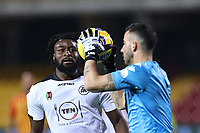 Mbala Nzola of Spezia Calcio<br /> during the Serie A football match between Benevento Calcio and Spezia Calcio at stadio Ciro Vigorito in Benevento (Italy), November 7th, 2020. <br /> Photo Cesare Purini / Insidefoto