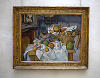 Francia Parigi Musée d'Orsay Paul Cezanne Nature morte au panier (vers 1888-1890)