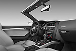 2010 - 2011 Audi S5 Cabriolet passenger side dashboard view