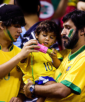 Brazil Fans. Germany defeated Brazil, 2-0 during the FIFA Women's World Cup final at Hongkou Stadium in Shanghai, China on September 30, 2007.