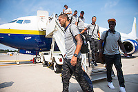 USMNT Arrives in Columbus for WC Qualifier against Mexico, Saturday, September 7, 2013