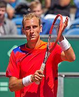Netherlands, The Hague, Juli 21, 2015, Tennis,  Sport1 Open, Thiemo de Bakker (NED)<br /> Photo: Tennisimages/Henk Koster