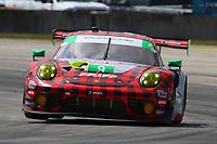 #9 PFAFF MOTORSPORTS (USA) PORSCHE 911 GT3R GTD ZACHARIE ROBICHON (CAN) LAURENS VANTHOOR (BEL) LARS KERN (DEU)