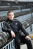 Pictured: Swansea City footballer Mark Gower at Libery Stadium, Swansea. South Wales. Thursday 04 December 2008.<br /> Picture by Dimitrios Legakis Photography (Athena Picture Agency), Swansea, 07815441513