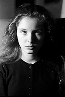 MONTREAL, CANADA - File Photo - French actress July Delpy,<br /> on February 3, 1988.<br /> <br /> Photo : agence quebec presse - Pierre Roussel