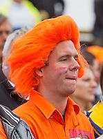 14-09-12, Netherlands, Amsterdam, Tennis, Daviscup Netherlands-Swiss,  Dutch spectator